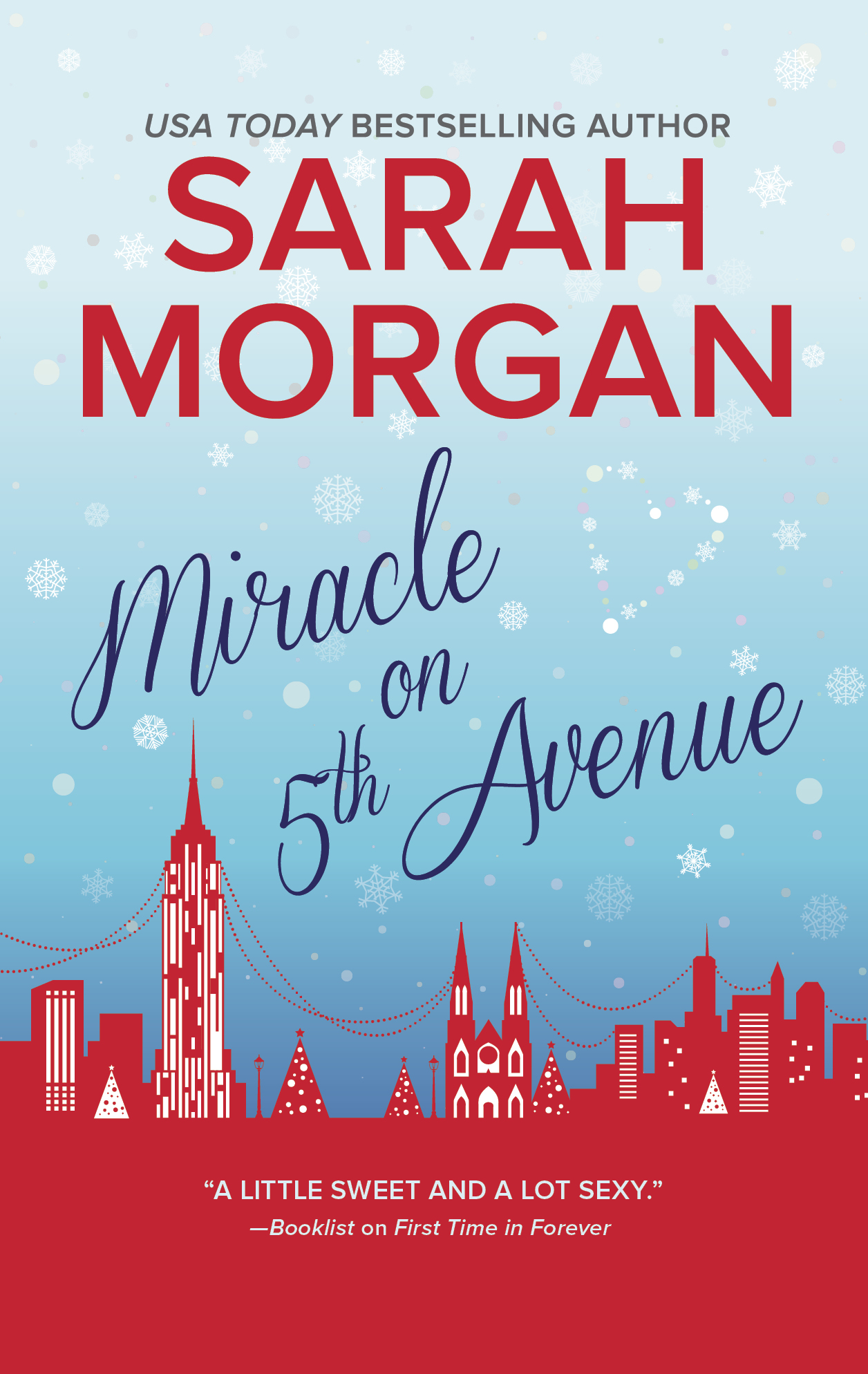 Miracle On 5th Avenue Sarah Morgan